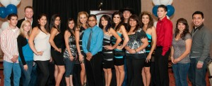 Sparx, Lorenzo Antonio, and some of the Scholarship recipients